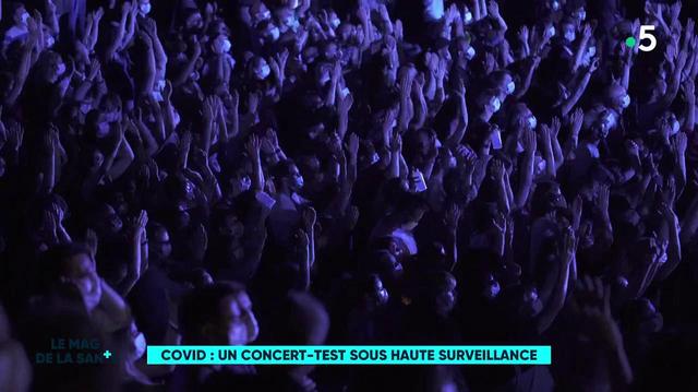 Concert-test d'Indochine : 5000 personnes réunies pour la science