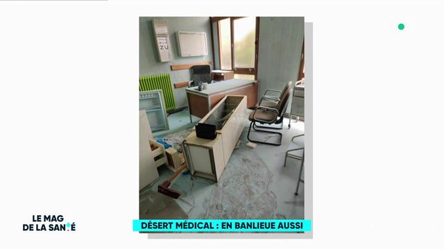 Déserts médicaux : une situation préoccupante en banlieue