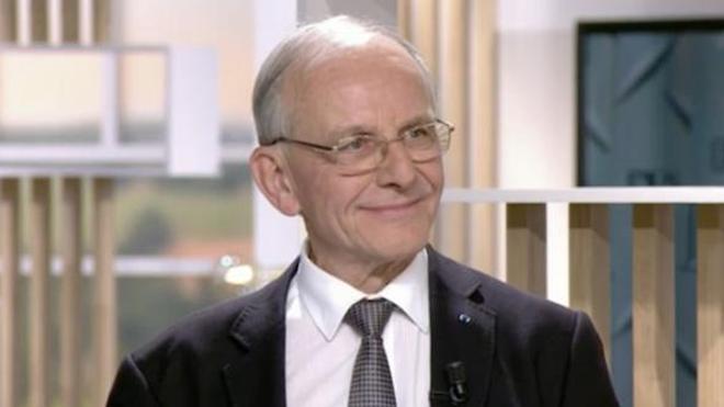 Le Pr Axel Kahn, invité sur le plateau du Magazine de la Santé en octobre 2019.