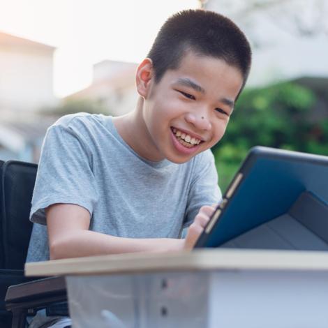 Handicap : un logiciel pour mieux communiquer