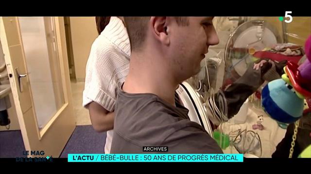 Les Bébés-bulle : on vous raconte 50 ans de progrès médical