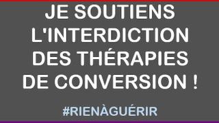 #RienAGuérir : un hashtag pour soutenir l'interdiction des thérapies de conversion