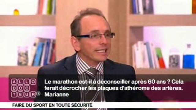 Dangers du sport : le marathon déconseillé après 60 ans?
