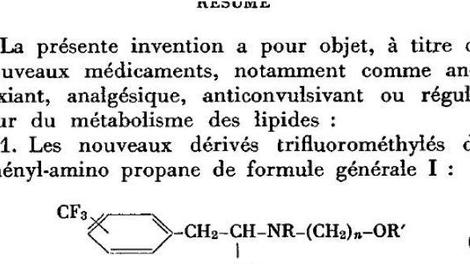 Le Mediator comme coupe-faim dès 1966 : l'accablant brevet français retrouvé