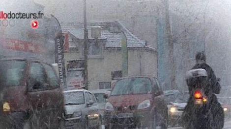 Froid et qualité de l'air : alerte aux particules fines en région parisienne