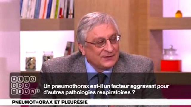 Pneumothorax : facteur aggravant?