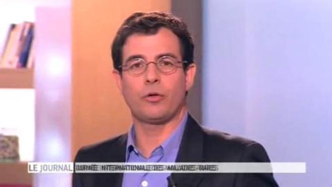 Entretien avec le Pr. Nicolas Lévy, chercheur généticien et directeur de la fondation maladies rares, invité dans ''Le magazine de la santé'' du 29 février 2012.