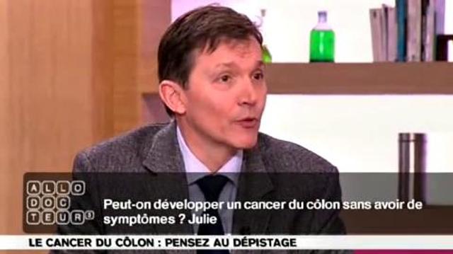 Cancer du côlon : symptômes