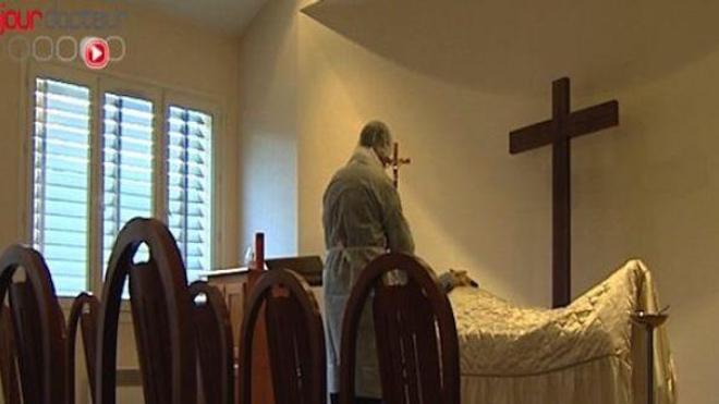 A Falciano Del Massico, prière de rester en vie