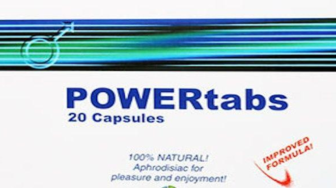 POWERtabs® contient un substance dangereuse pour la santé