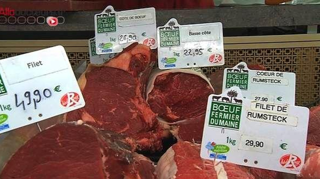 Plus d'inflammation de l'intestin chez les grands consommateurs de viande rouge