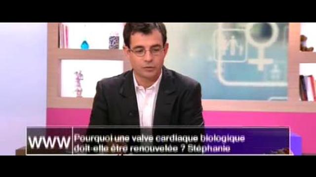 Pourquoi une valve cardiaque biologique doit-elle être renouvelée?