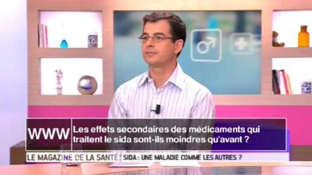 Sida : les effets secondaires des médicaments sont-ils moindres qu'avant ?
