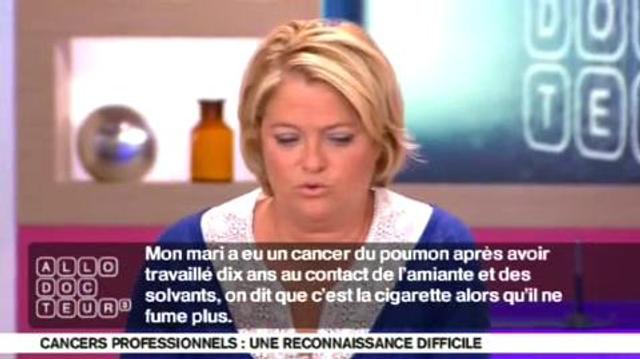 Cancer professionnel : amiante ou tabac, qui est le coupable ?