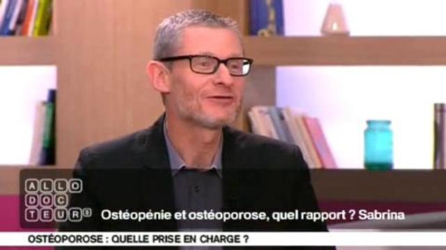 Ostéopénie et ostéoporose, quel rapport ?