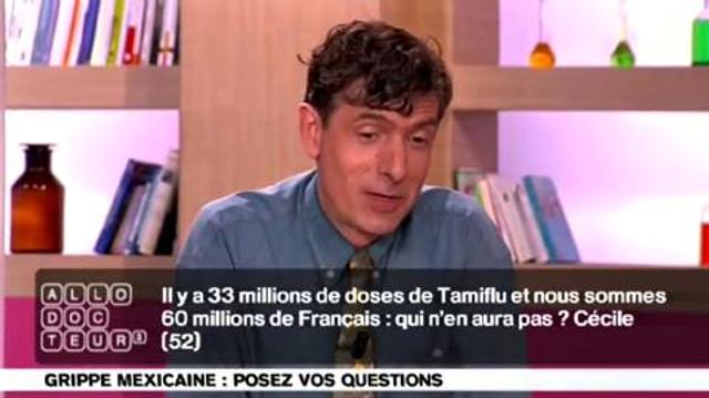 Grippe mexicaine et traitements antiviraux