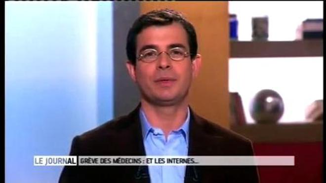 Vidéo : Entretien avec Emmanuel Loeb, président de l'Inter Syndicat National des Internes des Hôpitaux, du 20 novembre 2012.