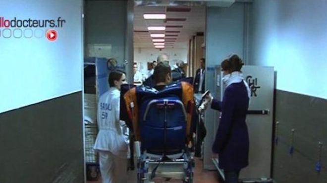 Agressions dans les hôpitaux en hausse, en baisse contre les médecins