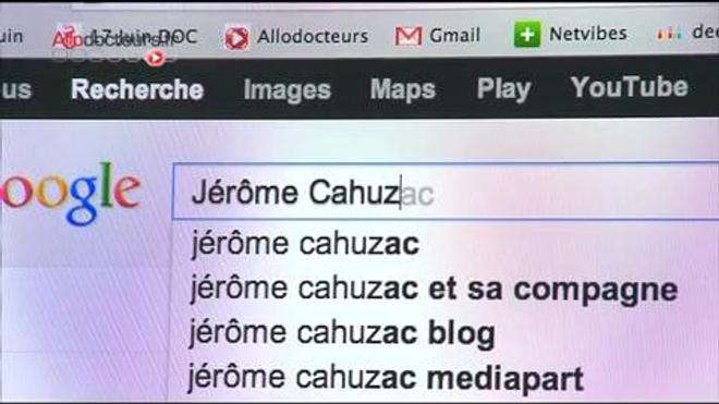 Les liaisons dangereuses du Dr Cahuzac (sujet du 22 avril 2013)